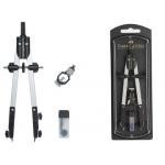 Compas Faber-Castell escolar de ajuste rapido con adaptador universal