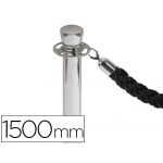 Cordon trenzado color negro mm para poste separador