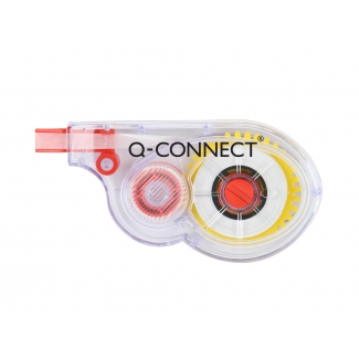 Q-Connect KF01593 - Cinta correctora, 5 mm x 8 m, aplicación lateral
