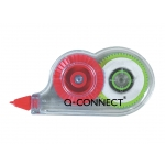 Corrector Q-connect cinta mini color blanco 4,2 mm .x 5 m en blister