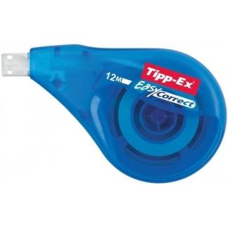 Tipp-Ex 8290351 Easy Correct- Cinta correctora, 4,2 mm x 12 m, aplicación lateral