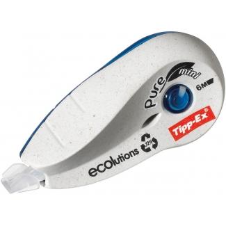 Tipp-Ex 918466 Pure Mini - Cinta correctora, 5 mm x 6 m, aplicación lateral