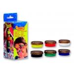 Crema maquillaje Jovi 8ml caja de 6 colores surtidos