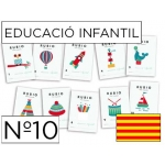 Cuaderno Rubio educación color infantil nº10 catalan