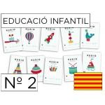 Rubio I-2 CAT - Cuaderno de educación infantil color, catalán nº 2