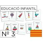 Cuaderno Rubio educación color infantil nº3 catalan