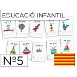 Cuaderno Rubio educación color infantil nº5 catalan