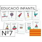 Cuaderno Rubio educación color infantil nº7 catalan