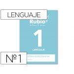 Cuaderno Rubio entrena tu mente estimulación cognitiva lenguaje 1