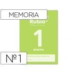 Cuaderno Rubio entrena tu mente estimulación cognitiva memoria 1