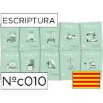Cuaderno Rubio escriptura nºc010 catalan