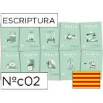 Cuaderno Rubio escriptura nºc02 catalan