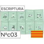 Cuaderno Rubio escriptura nºc03 catalan