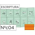 Cuaderno Rubio escriptura nºc04 catalan