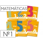 Cuaderno Rubio matemáticas evolución Nº 1