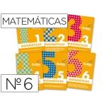 Cuaderno Rubio matemáticas evolución Nº 6