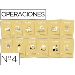 Cuaderno Rubio operaciones dividir por una cifra