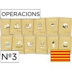 Cuaderno Rubio operacions nº3 catalan