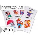 Cuaderno Rubio preescolar Nº 10