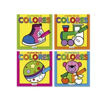 Saldaña CPC092 - Mi primer libro de colores, cuaderno para colorear