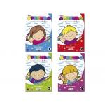 Cuaderno para colorear y actividades solito aprendo para niños de 3a 5 años 32 páginas 170x240 mm