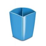 Cubilete portalapices Cep magnético color azul