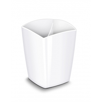 Cep 1005310021 - Cubilete portalápices magnético, color blanco
