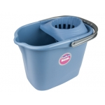 Cubo de fregona con escurridor 15 l color azul