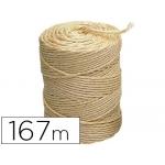 Cuerda sisal 3 cabos Liderpapel rollo 1 kg