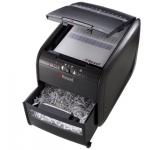 Destructora de documentos Rexel auto+ 60x capacidad de corte 60 hojas destruye grapas y tarjetas