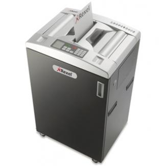 Rexel Auto+ 650 - Destructora de papel, corte en partículas, destruye hasta 7 hojas, con autoalimentación, papelera de 83 litros