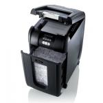 Destructora de documentos Rexel auto+300+x corte confeticapacidad 8 hojas destruye clips y cd