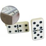 Domino color marfil caja de plástico