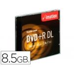Dvd+r dl Imation capacidad 8,5 gb velocidad 8x doble capacaja de 5 unidades codigo de barras individual