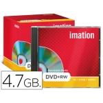 Dvd+rw Imation capacidad 4,7gb velocidad 4x regrabable caja 1
