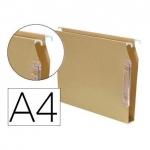 Elba Gio 100333095 - Carpeta colgante, tamaño A4, visor lateral, kraft