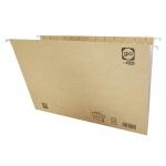 Elba Gio 400021953 - Carpeta colgante, tamaño folio, visor superior, kraft bicolor