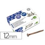 Encuadernadores Liderpapel Nº 0 12 mm caja de 100 unidades