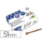Encuadernadores Liderpapel Nº 10 51 mm caja de 100