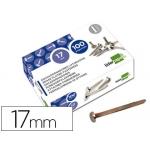 Encuadernadores Liderpapel Nº 2 17 mm caja de 100