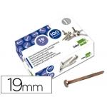 Encuadernadores Liderpapel Nº 3 19 mm caja de 100