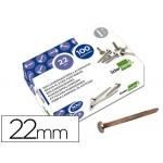 Encuadernadores Liderpapel Nº 4 22 mm caja de 100