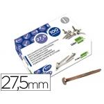 Encuadernadores Liderpapel Nº 6 27,5 mm caja de 100