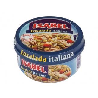 Ensalada italiana Isabel racio Nº individual lista para comer no necesita frio 230 gr/m2