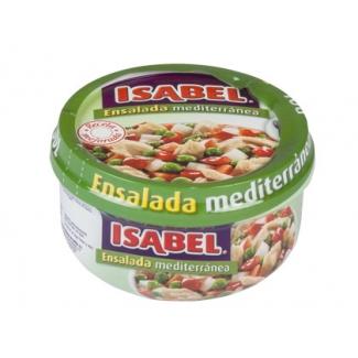 Ensalada mediterránea Isabel r acion individual lista para comer no necesita frio 230 gr/m2