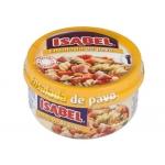 Ensalada pavo Isabel racion in dividual lista para comer no necesita frio 230 gr/m2