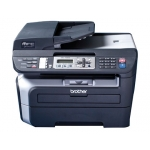 Equipo multifuncion Brother impresora laser 22 ppm copiadora 22 cpm escaner plano color fax laser pc fax