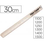 Escala Faber-Castell plástico 853-b 30 cm