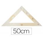 Escuadra para encerado Faibo plástico imitación madera 50 cm