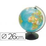Esfera sin luz corallo de 26 cm diámetro